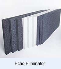 echo eliminator by acoustical soundproofing product suppliers and acoustical soundproofing consultants