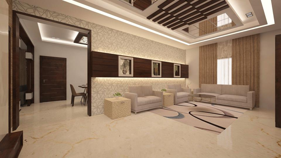INTERIOR DESIGNER DESIGNING FURNITURE MODEL
